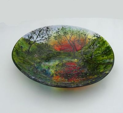 'Spring Reflections' Large Bowl, SOLD