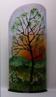 'Tree at Sunset' Sculpture, £295