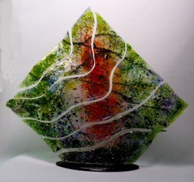 'Wave Reflections' Sculpture, SOLD