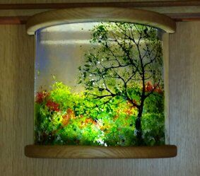 'Oak Tree' Light Cover Commission