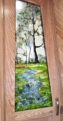 'Spring' Door Panel
