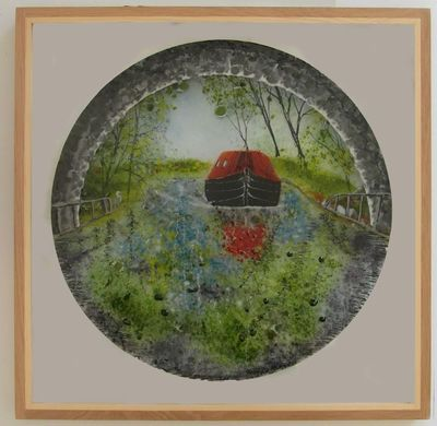 'Canal Tunnel' Picture, £275