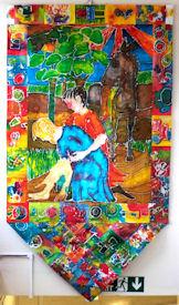 Year 1 Batik Wall Hanging