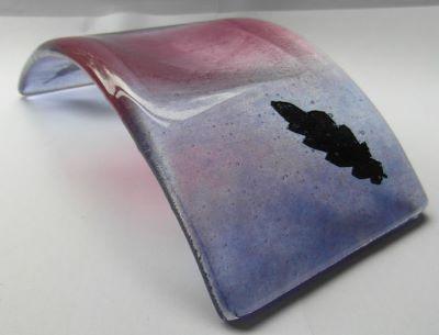 Candle Holder 'Purple Leaf', £20