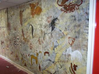 Cave Art at St Michael's School