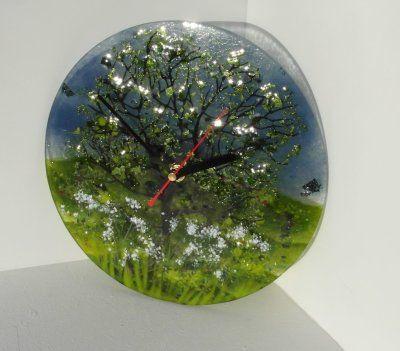 'Spring' Clock