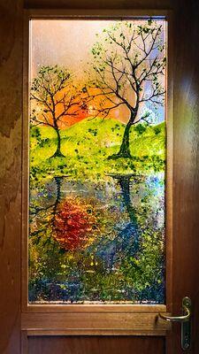 'Reflections' Door Panel