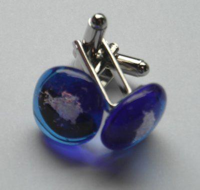 Glass Cufflinks, £17