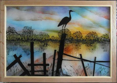'Heron' Lightbox