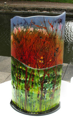 Fire Trees Sculpture, SOLD