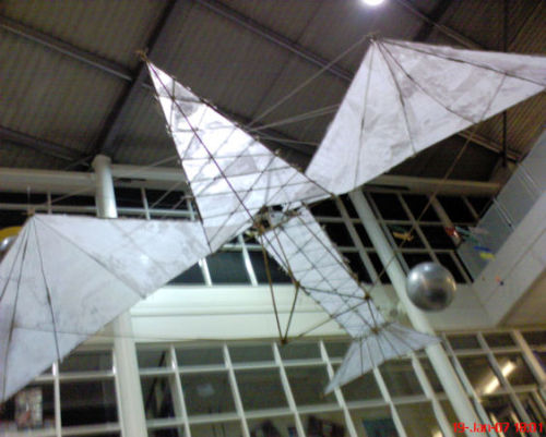 Yardleys School Flying Machine