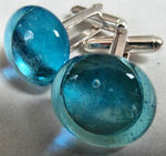 Glass Cufflinks, £17
