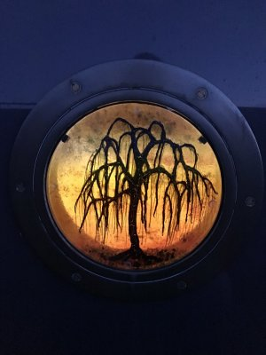 Willow Porthole On Boat
