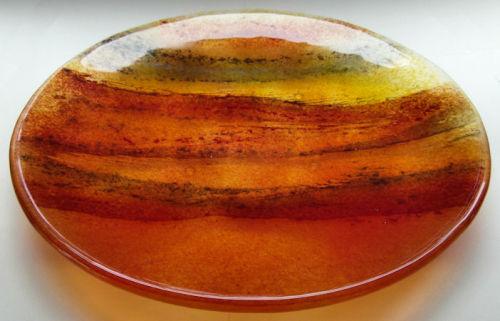Large 'Sunset' Plate