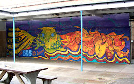Bartley Green School Mural