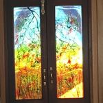 'Sunset' Panels for Boat Front Doors
