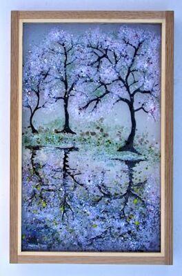 'Cherry Blossom x3' Picture, £195