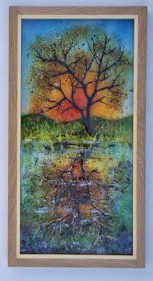 'Autumn Sunset', £145