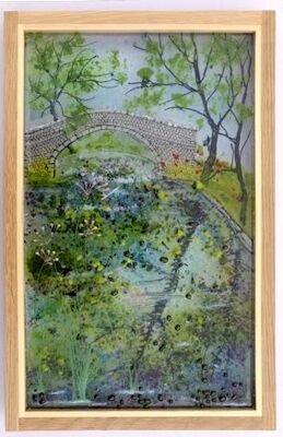 'Canal Bridge Reflections' Picture - £195