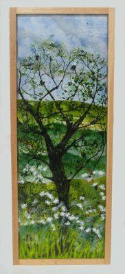 'Oak Tree in Spring' Picture, sold at 'Glorious Glass Exhibition' Aylesbury