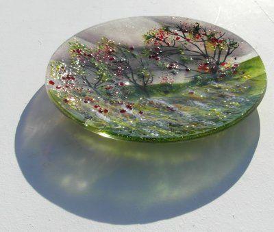 'Autumn' Plate- £85