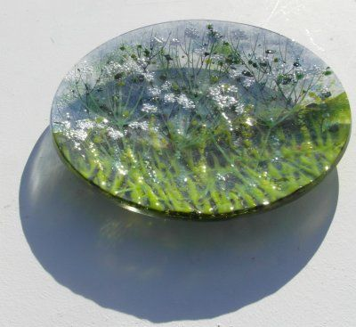 'Cow Parsley' Plate, SOLD