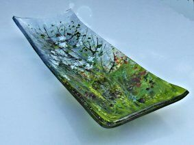 'Cow Parsley' Serving Dish, £45