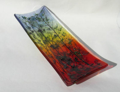 Serving Dish 'Sunset', SOLD