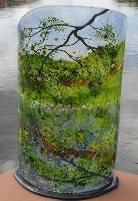 'Canal Bank Reflections' Sculpture, £365 SOLD