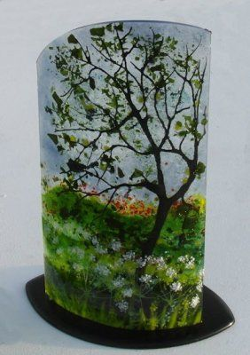 'Oak with Cow Parsley' Sculpture, SOLD