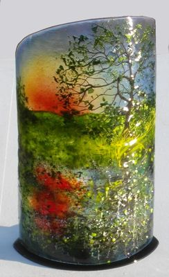 'Oak Tree Sunset' Sculpture, SOLD