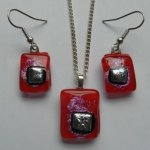 Earring and Pendant Set, £27