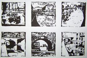 Six Views of Gas Street Basin 3 £30