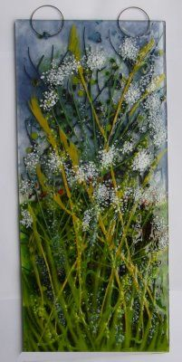 Wallhanging, 'Cow Parsley', SOLD