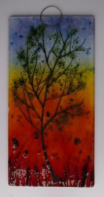 Wallhanging 'Sunset' SOLD