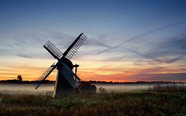 Smock Mill at sunrise