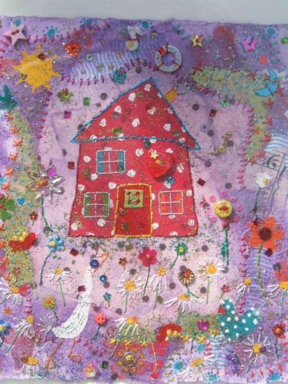 house with heart window 2