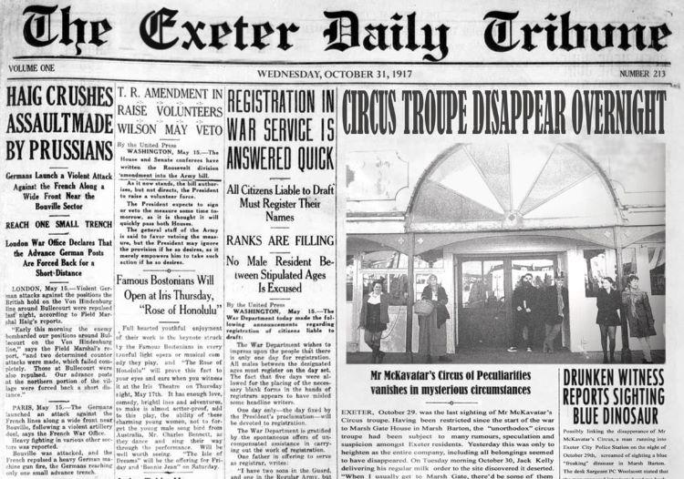 Exeter Daily Tribune LD