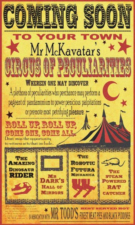 Mr McKavatar's Circus of Peculiarities