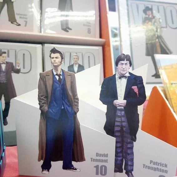 cut out Dr Whos