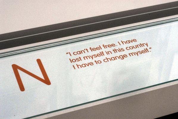N - I can't feel free