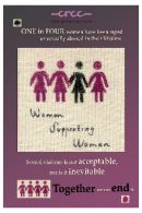 Rape Crisis Women Supporting Women Postcard