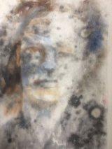 Print on liquid emulsion by Krystyna Hamera  March 2018