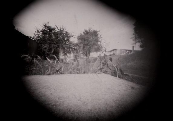 Pinhole photo on home made camera