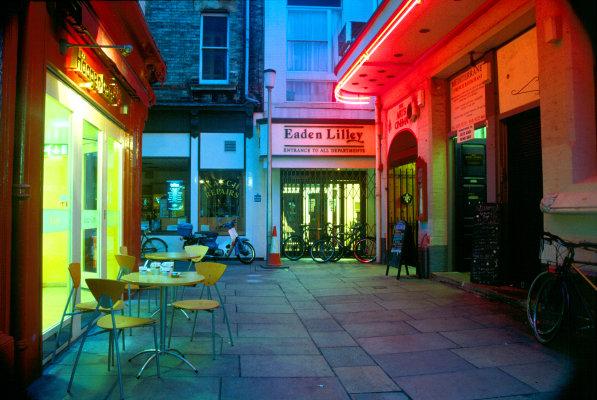 Arts Cinema, Market Passage (last day cinema was open)
