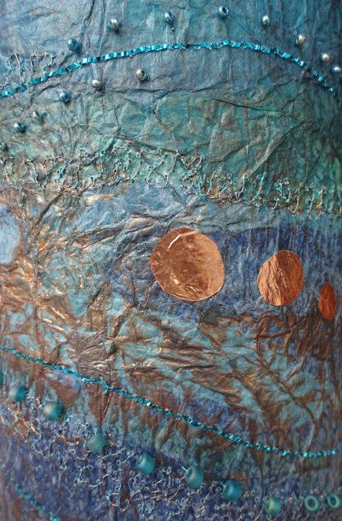 Rippling Waters Vase - detail