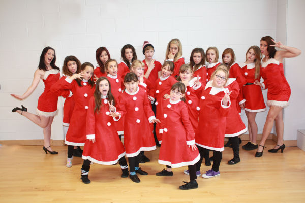 Christmas Show Rehearsals 2012
