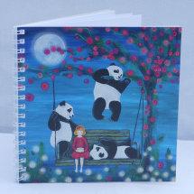 Goldilocks and the Panda Bears notebook