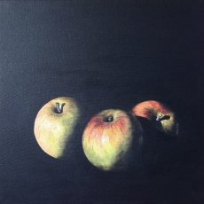 Trio of apples - SOLD