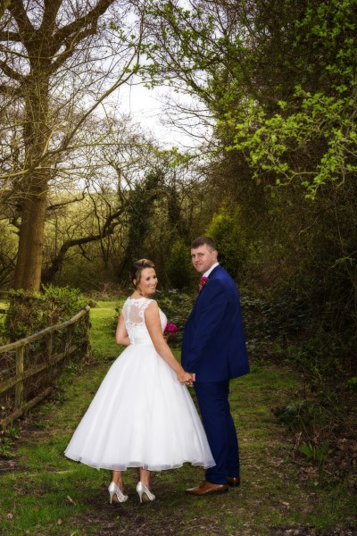 Bride and Groom at The Joshua Bradley